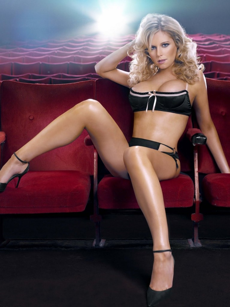 Abi Titmuss ,black bikini,long legs,blonde, push up bra