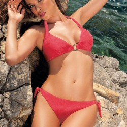 Aida Yespica, red bikini,bikini model,