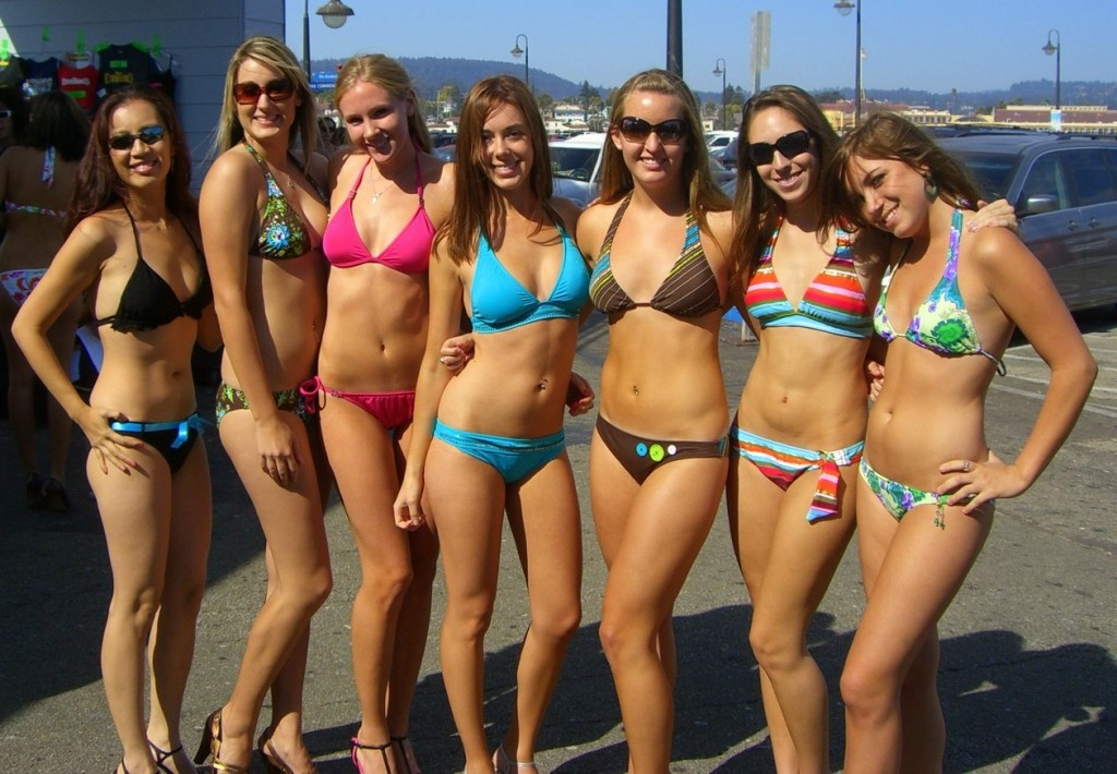 College Girls Spring Break Bikinis