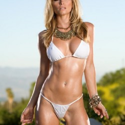 Heather Vandeven ,white bikini,bikini model